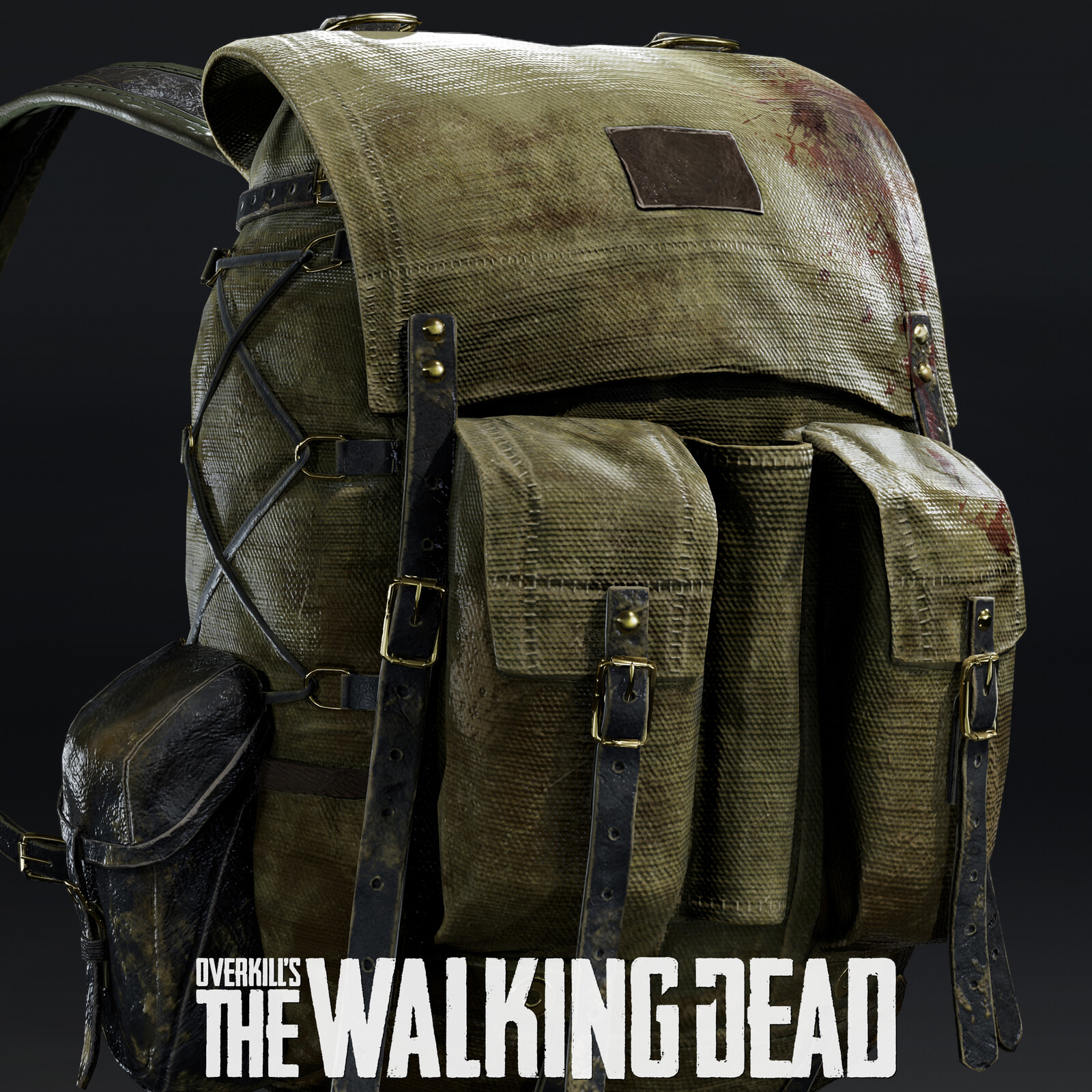 Overkill's The Walking Dead: Character's Backpacks