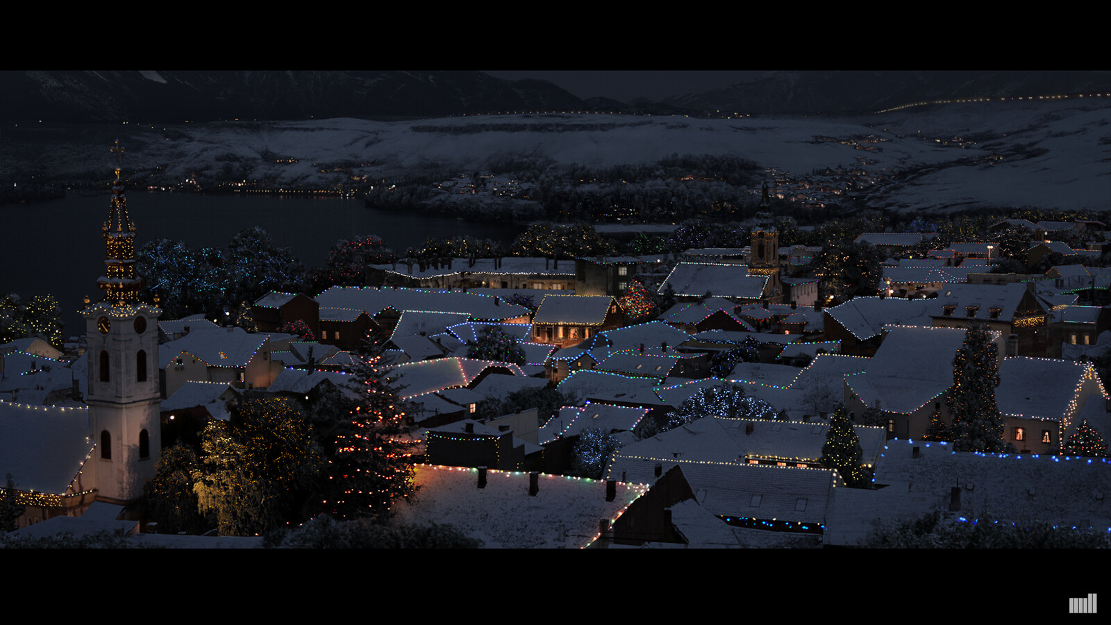 Huawei - Digital Matte Painting