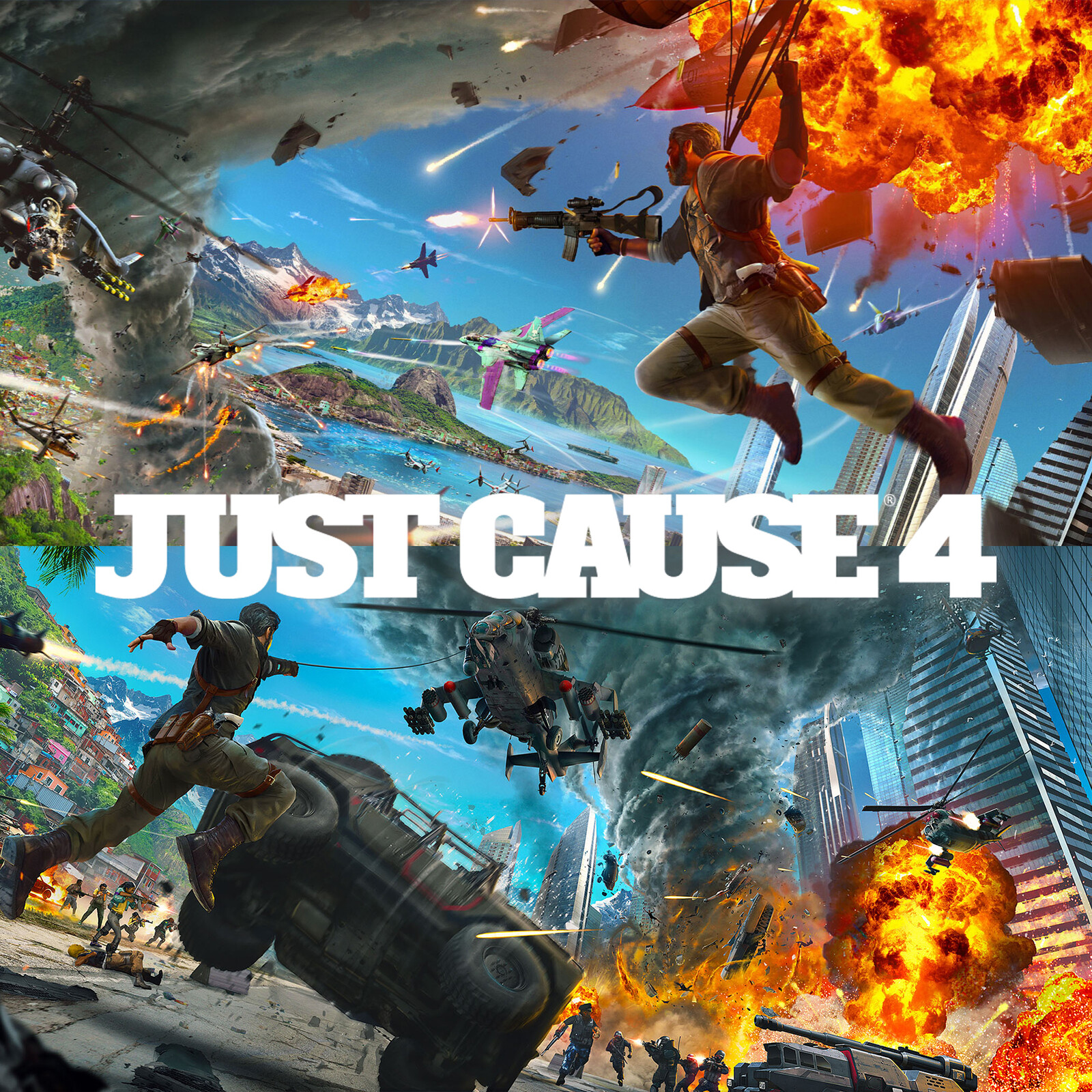 Just Cause 4: Key art
