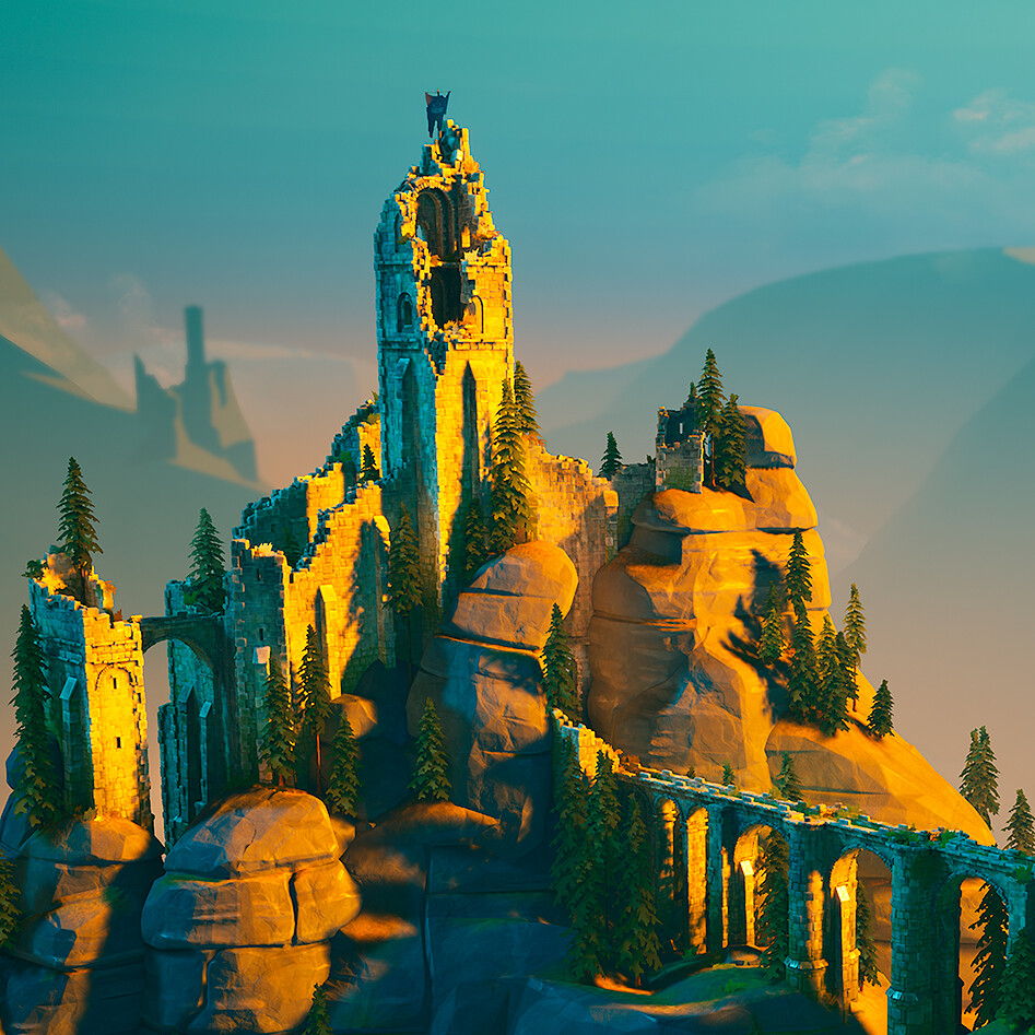 Bastei - Stylized Environment - Gnomon Workshop