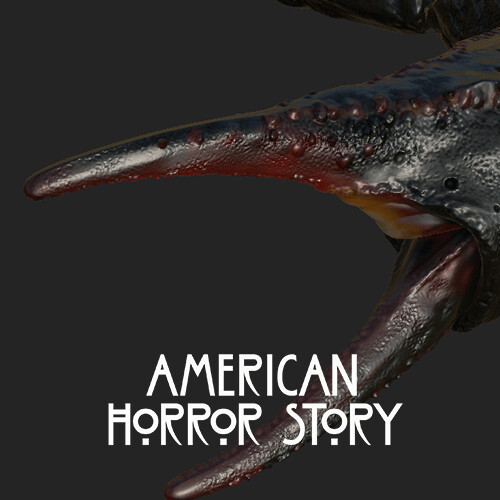 American Horror Story: Apocalypse – Hourglass Teaser -  Scorpions Texture work