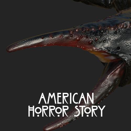 American Horror Story: Apocalypse – Hourglass Teaser -  Scorpions Texture work