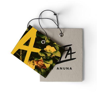Alecs ganoria hangtag yellow