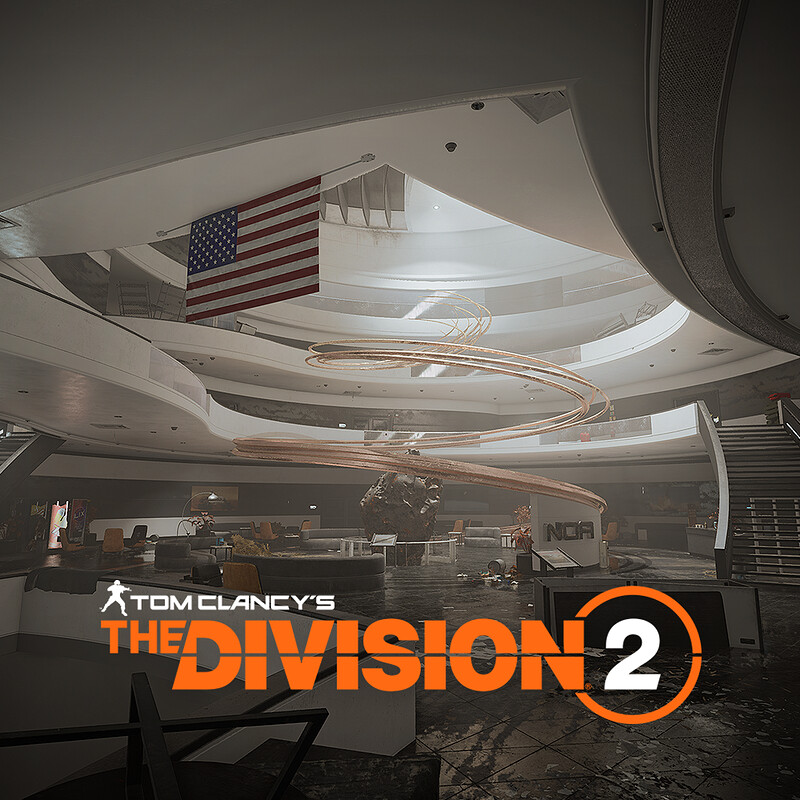 Atrium - Space Administration HQ - Tom Clancy's The Division2
