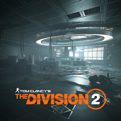 Control Room - Space Administration HQ - Tom Clancy's The Division2