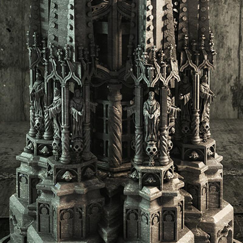 Gothic pillar