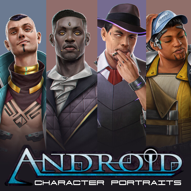 Android - Shadow of the Beanstalk Character Portraits
