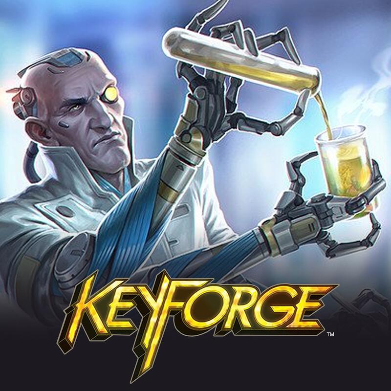 KeyForge - Ganymede Archivist
