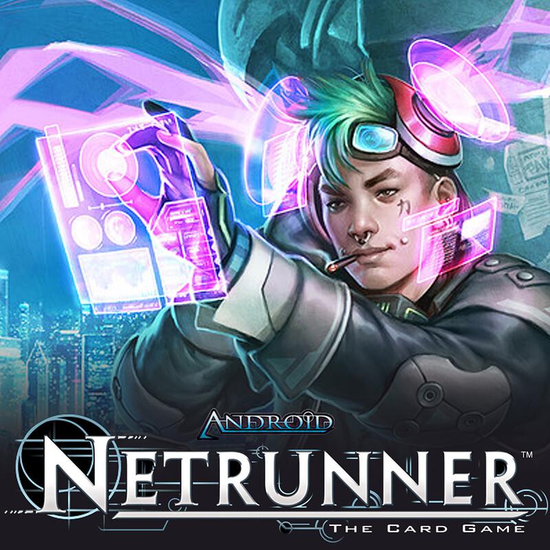 Android: Netrunner - Noise, Hacker Extraordinaire Alt Art