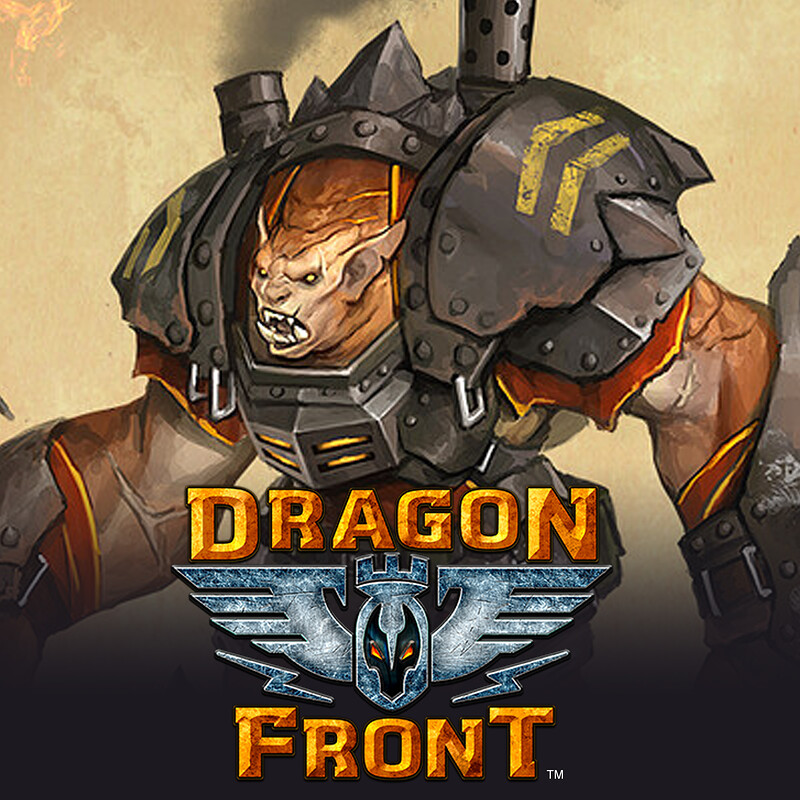 Dragon Front - Strife Character Concept