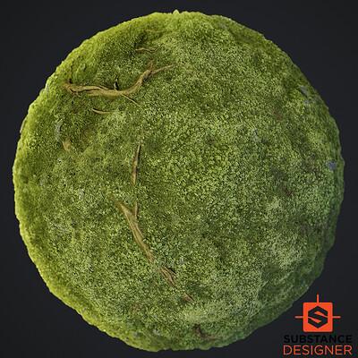 Moss Material