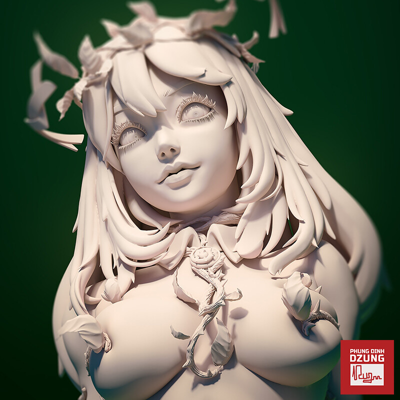 Poison Apple Bust Sculpt