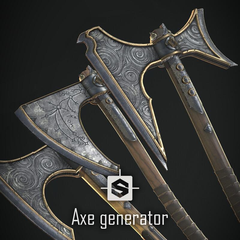 Axe Generator