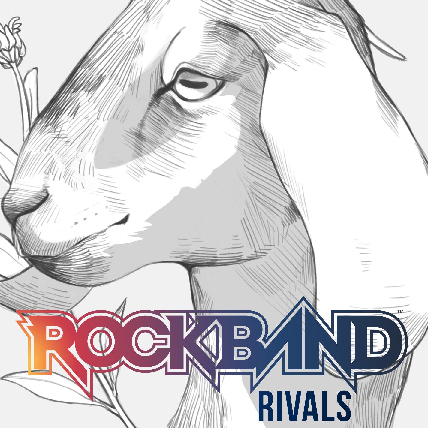 Happy Goat Rock Band 4 Track Skin