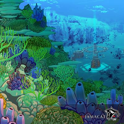 Djamacat gamesports enviroment concept thumb