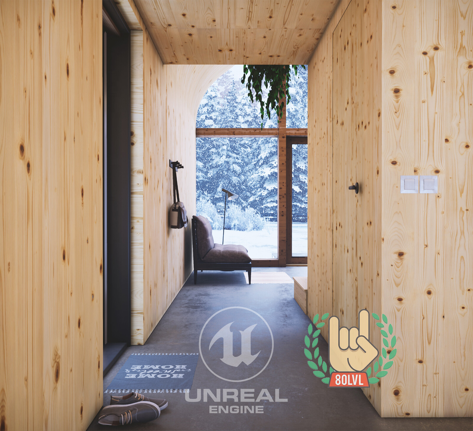 Winter Cabin - Unreal Engine 4