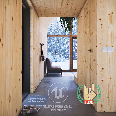 Winter Cabin - Unreal Engine 4