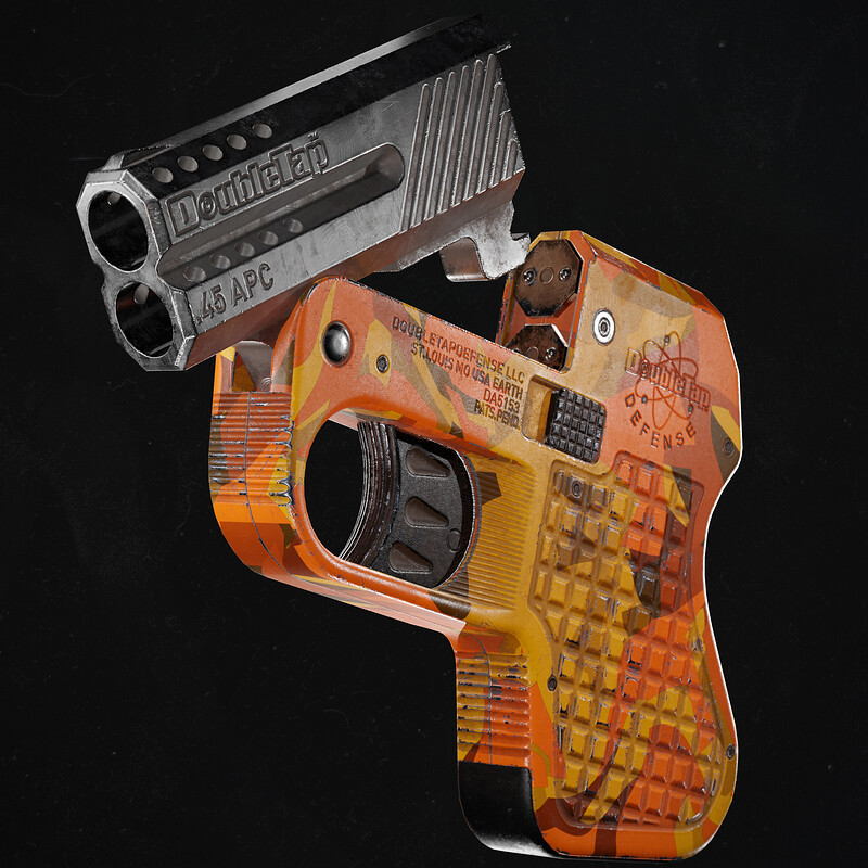 Double Tap Defence Pistol