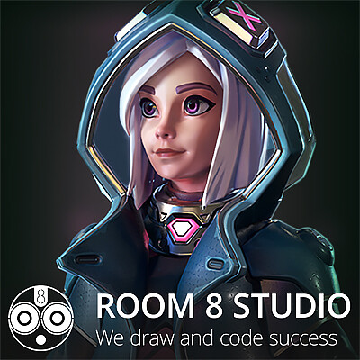 Room 8 studio sniper girl preview