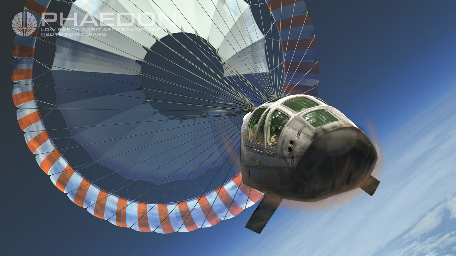 Phaedon Crew Escape Module deploys