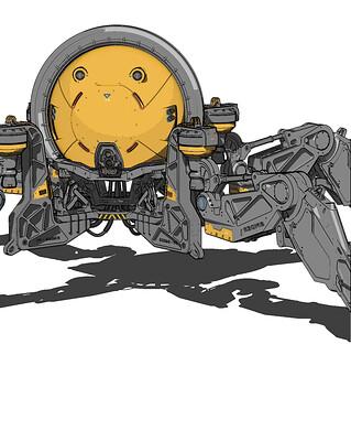 Mohammx hossein attaran spiderbot1