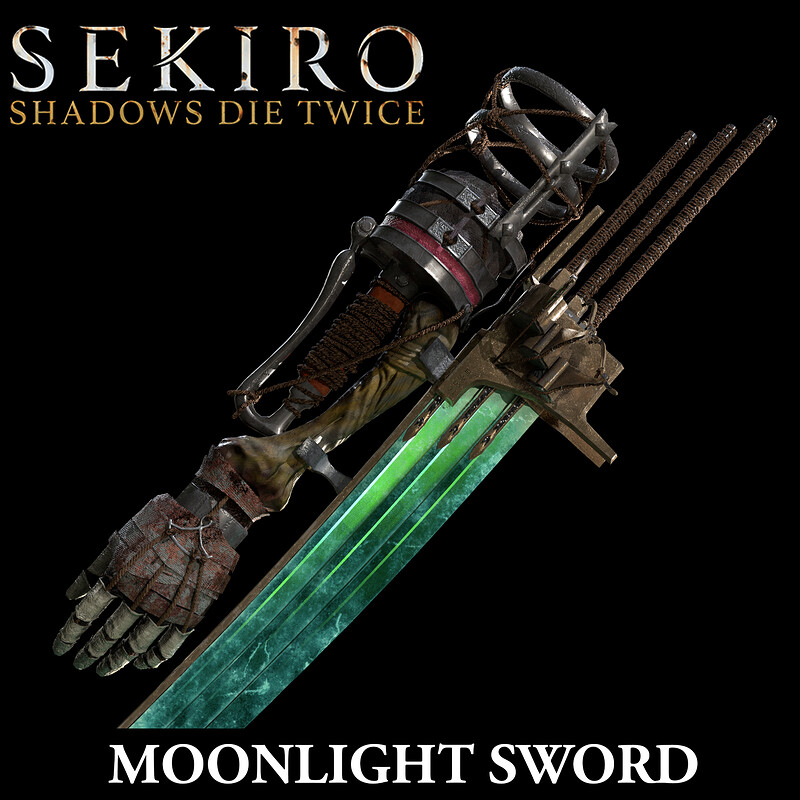 Moonlight Sword - Sekiro Contest Entry