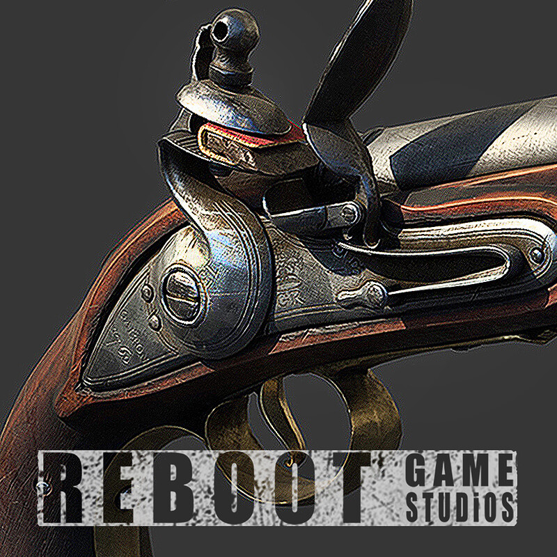Reboot Game Studios - Weapons-Ferguson Rifle