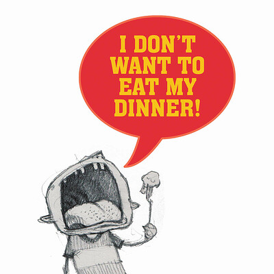 David d m cornish i dont want to eat my dinner page 04 05