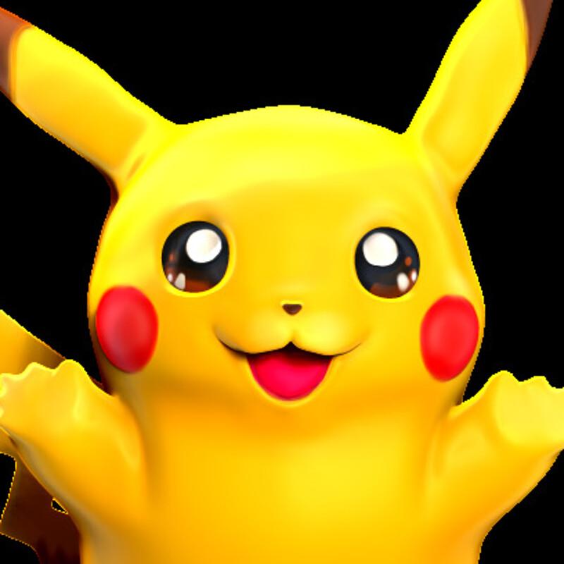 Pikachu Sculpt