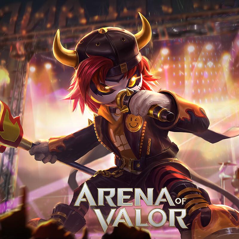 Arena of Valor: Death metal Kuie ku tsu splash