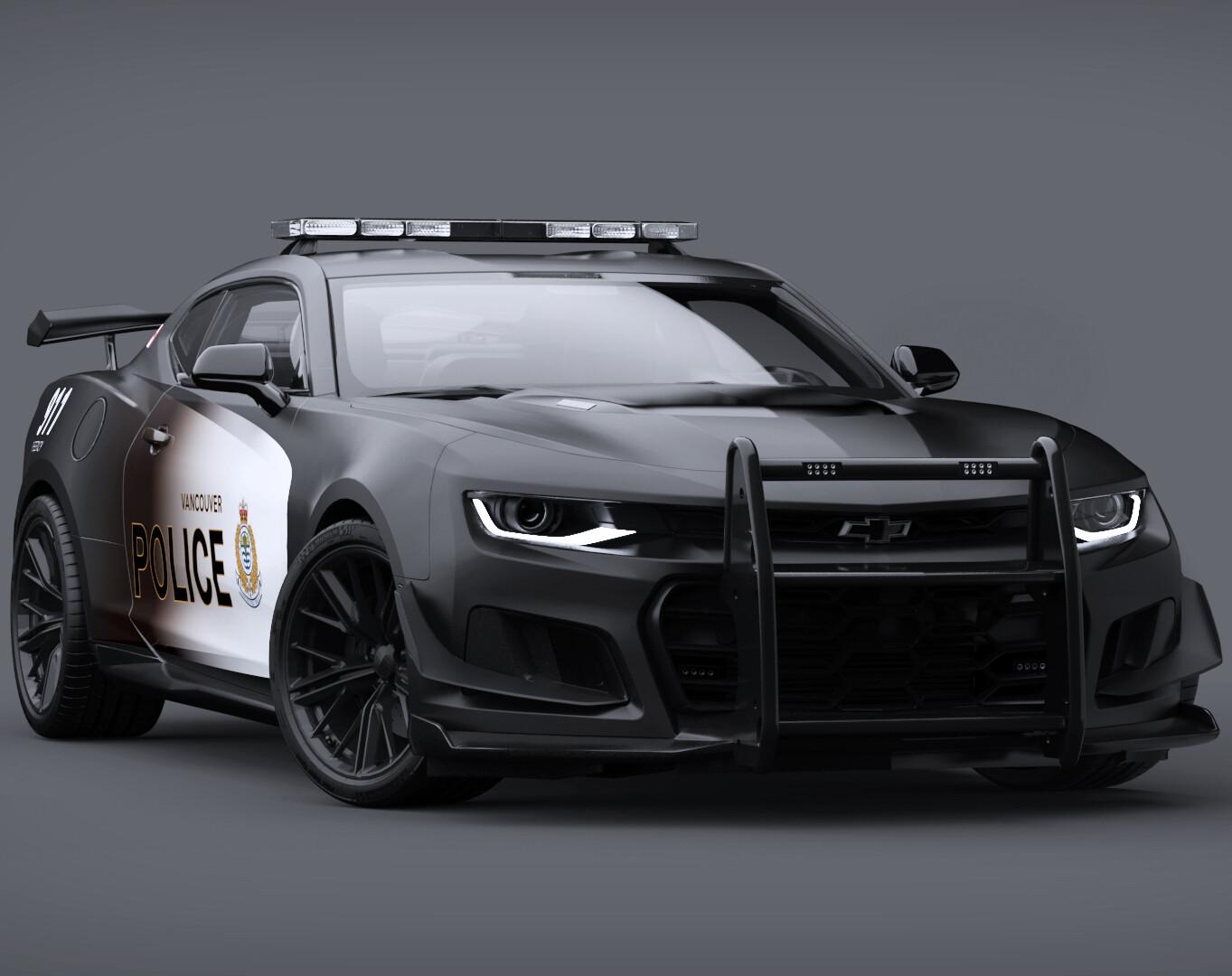 Camaro ZL1 1LE Police Concept