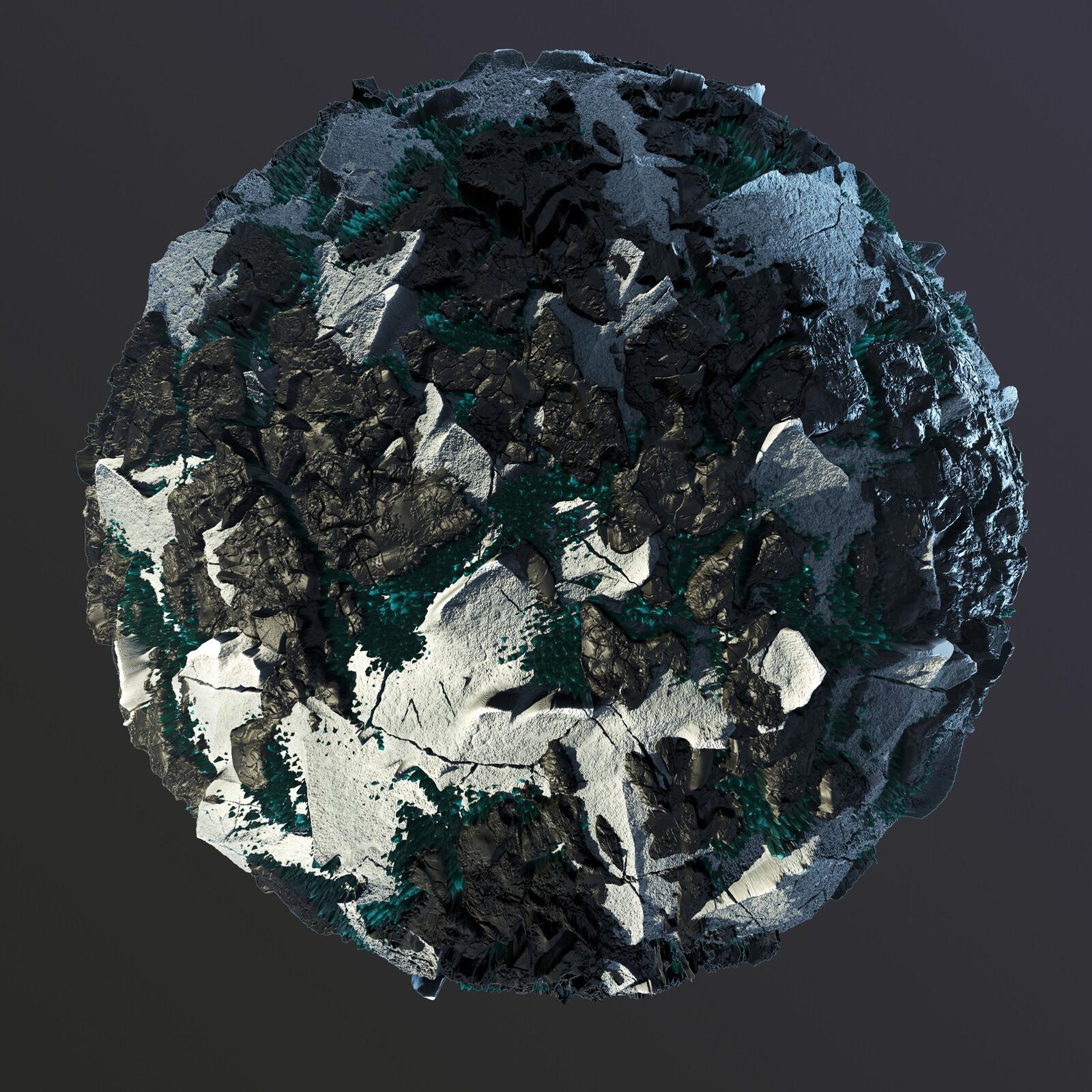 MechroMancy Terrain Material
