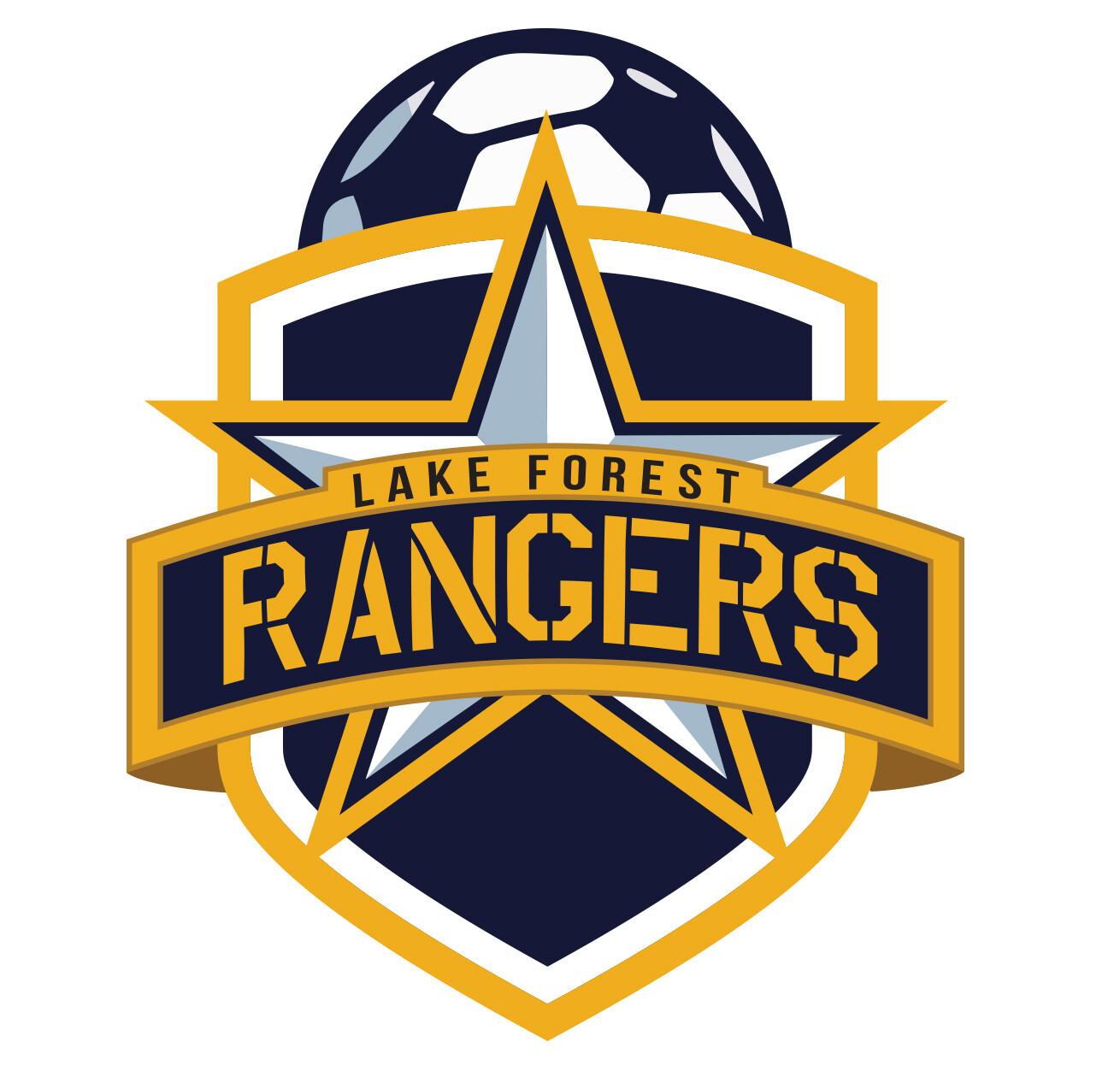 Lake Forest Rangers Soccer Team Logo