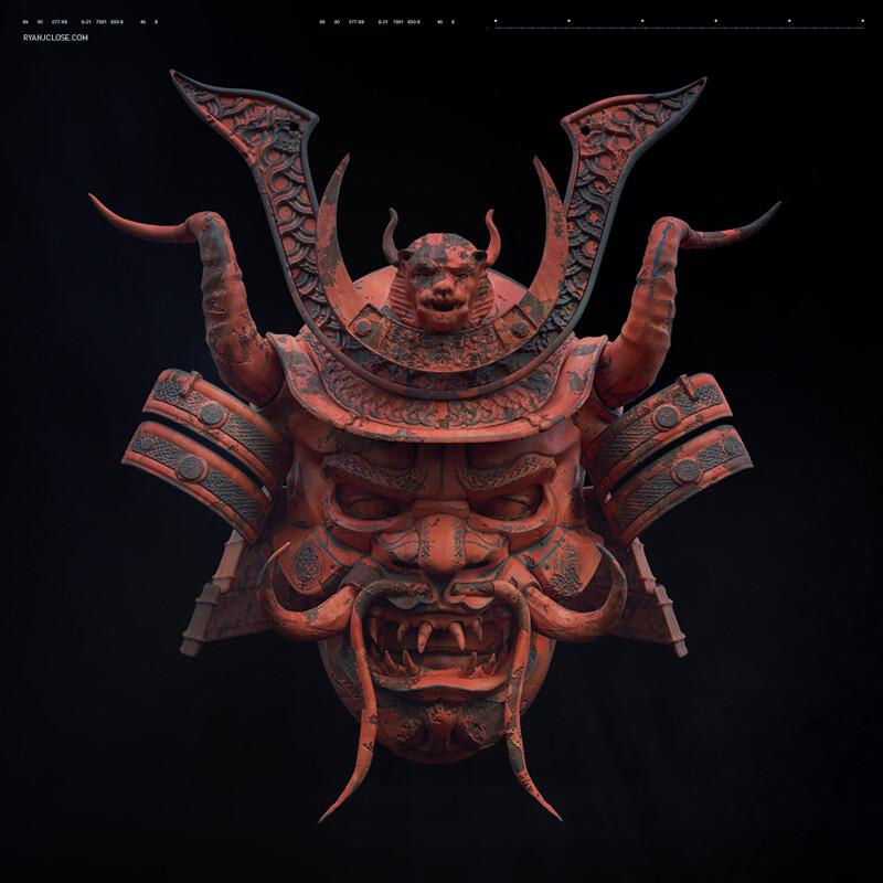 Mythological Samurai Helmet