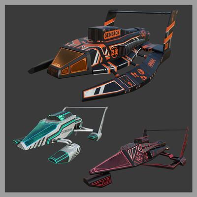 Futuristic Hydroplanes