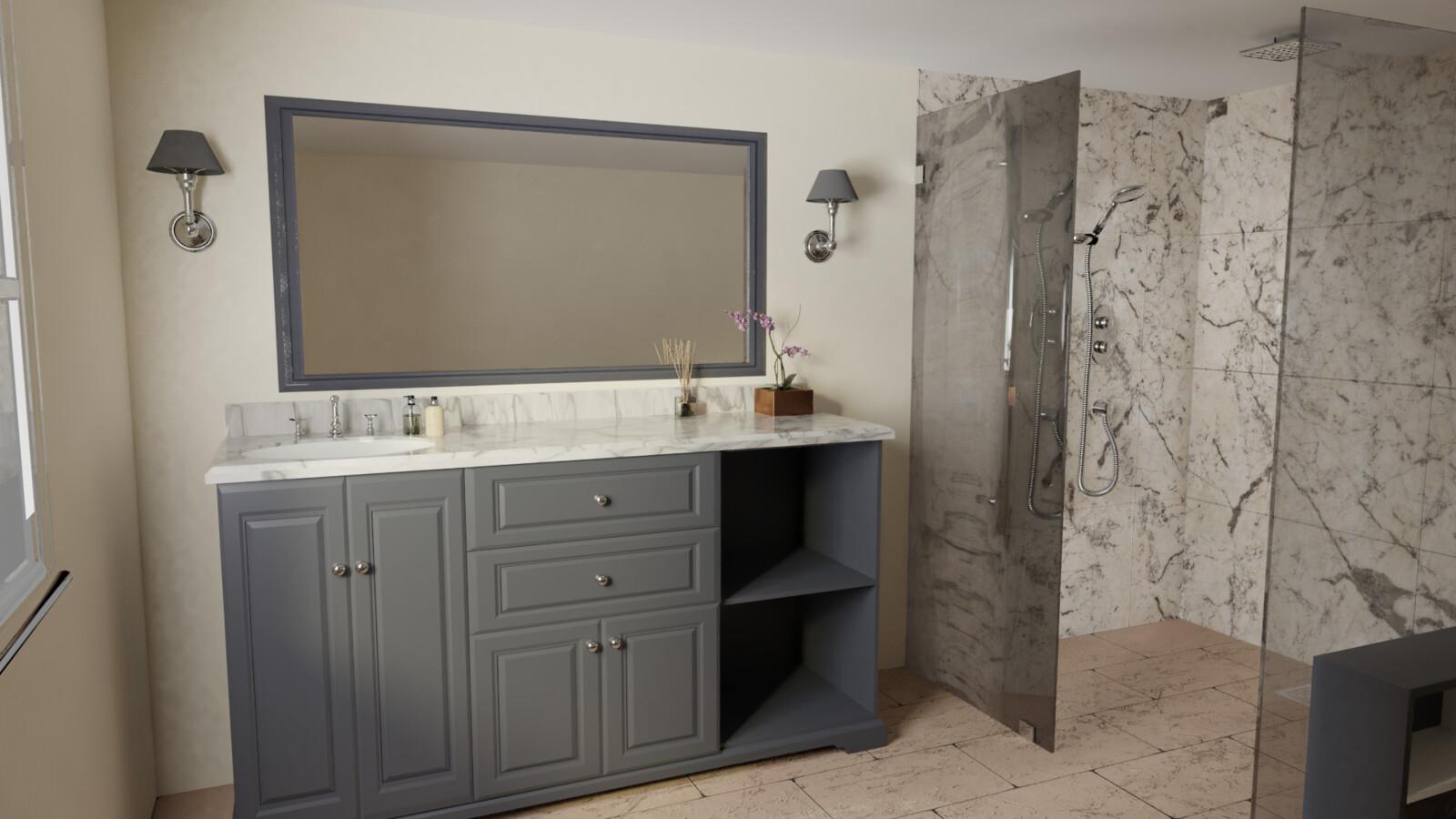 Bathroom (Architectural Render)