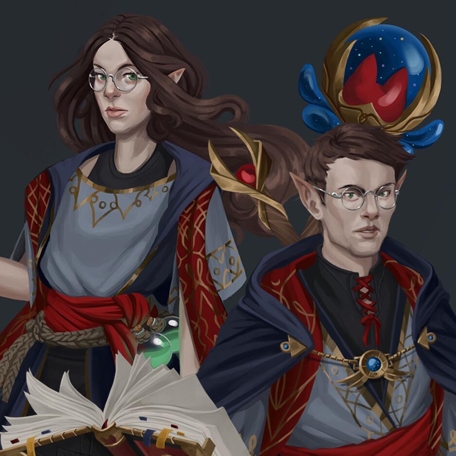 Arcanist Elves
