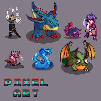 Pixel Art Portfolio (2015-2020)