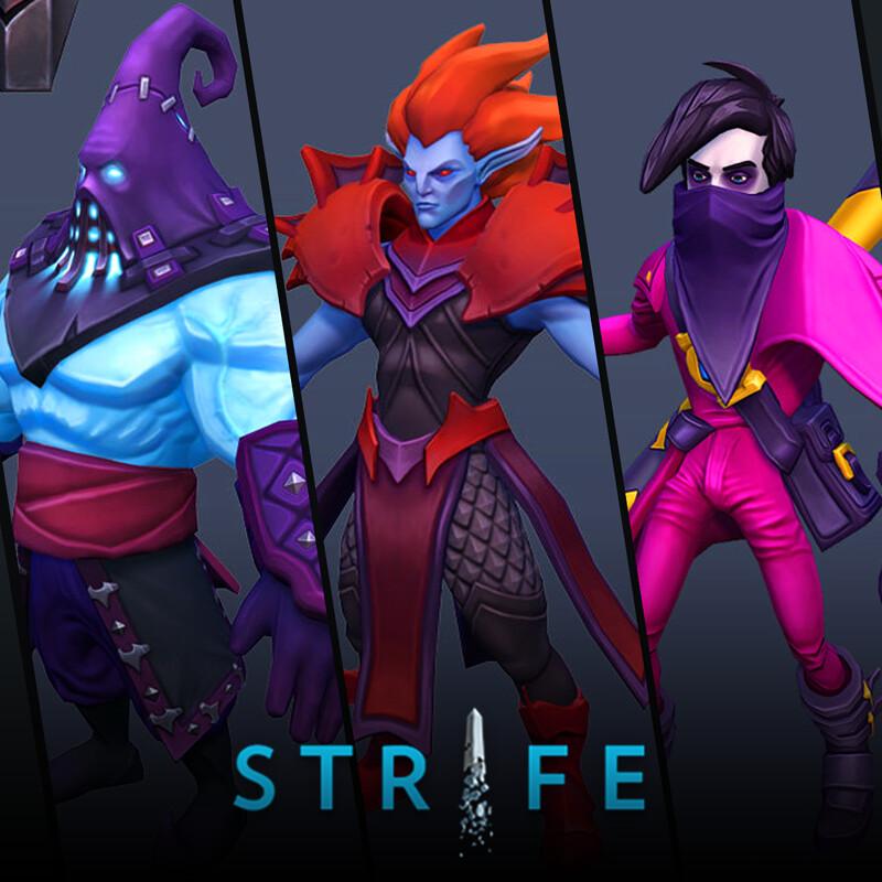 Strife (MOBA) - Heroes pt.1