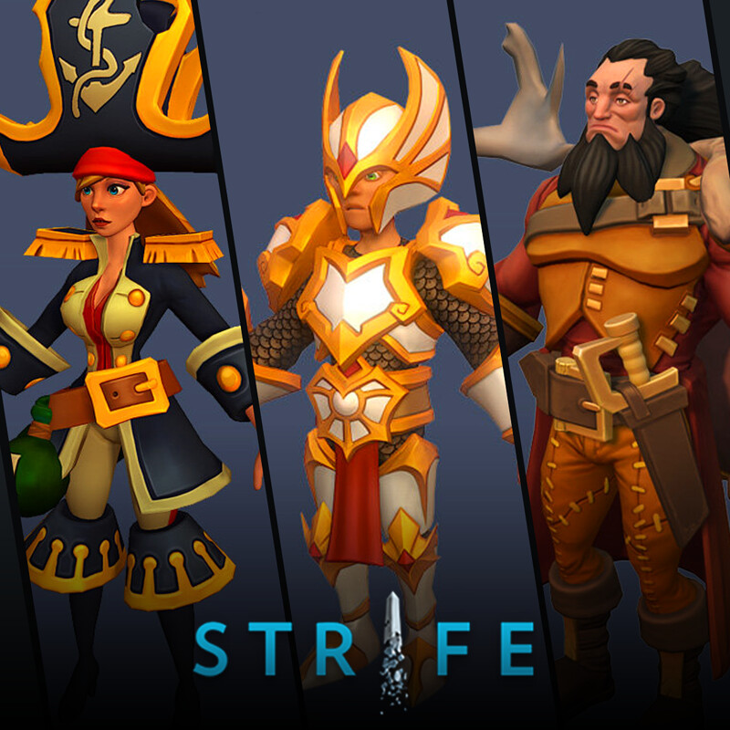 Strife (MOBA) - Heroes pt.4