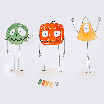 CGA Halloween