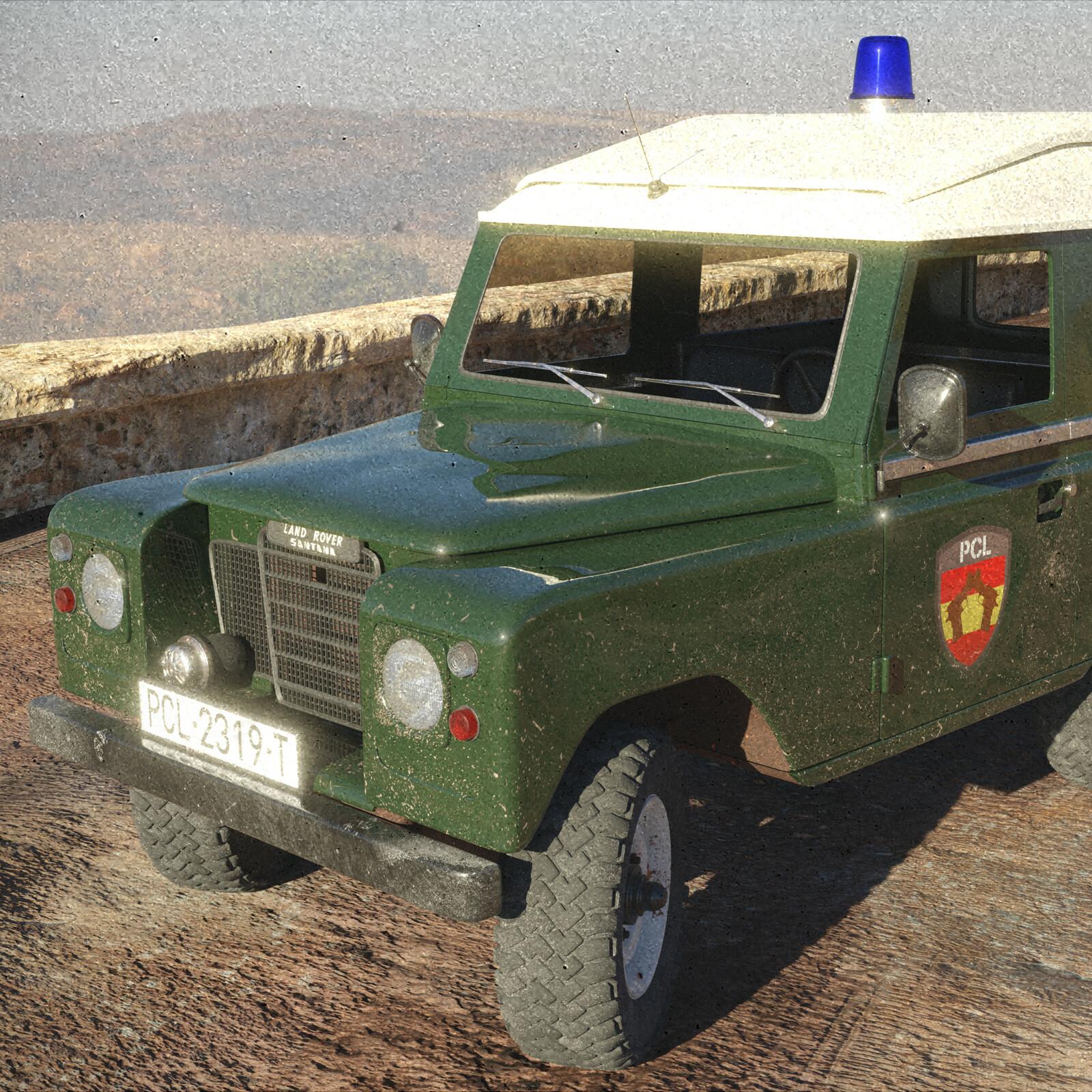 Land-Rover Santana 88 Especial - Police Patrol Vehicle