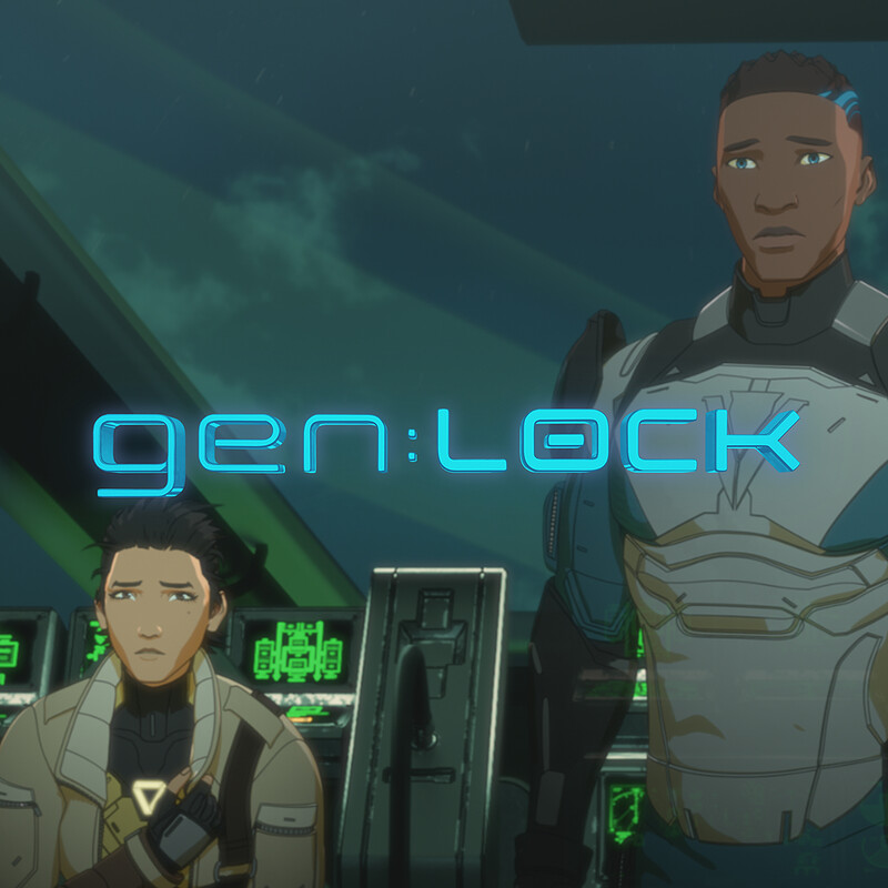Genlock Character Lighting Breakdown