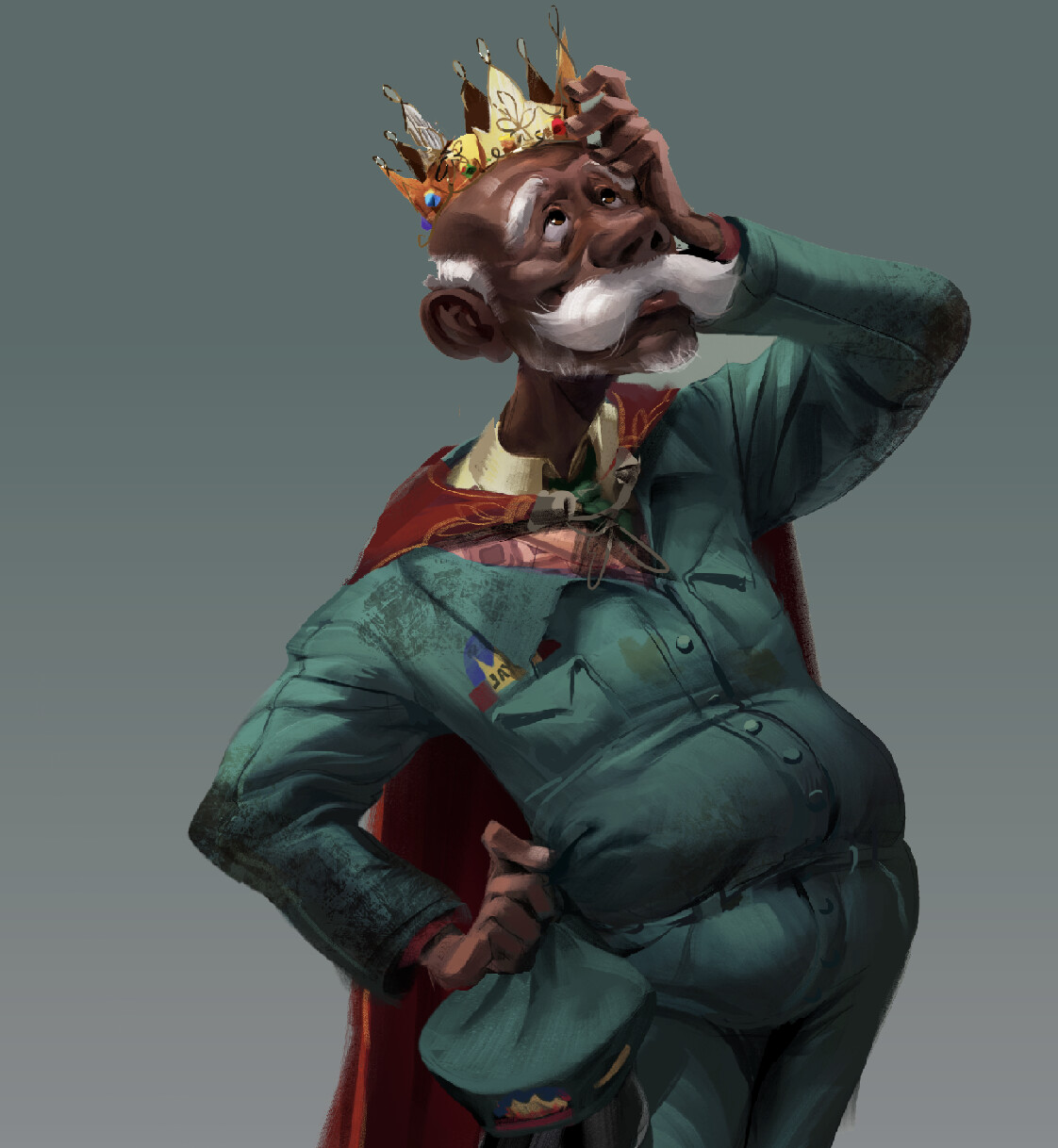 The King of the Elves - Character Design