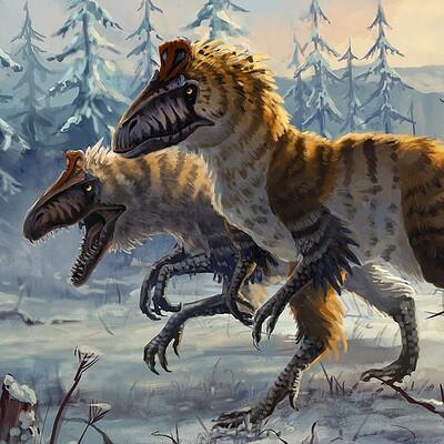 Hannah boving cryolophosaurus th