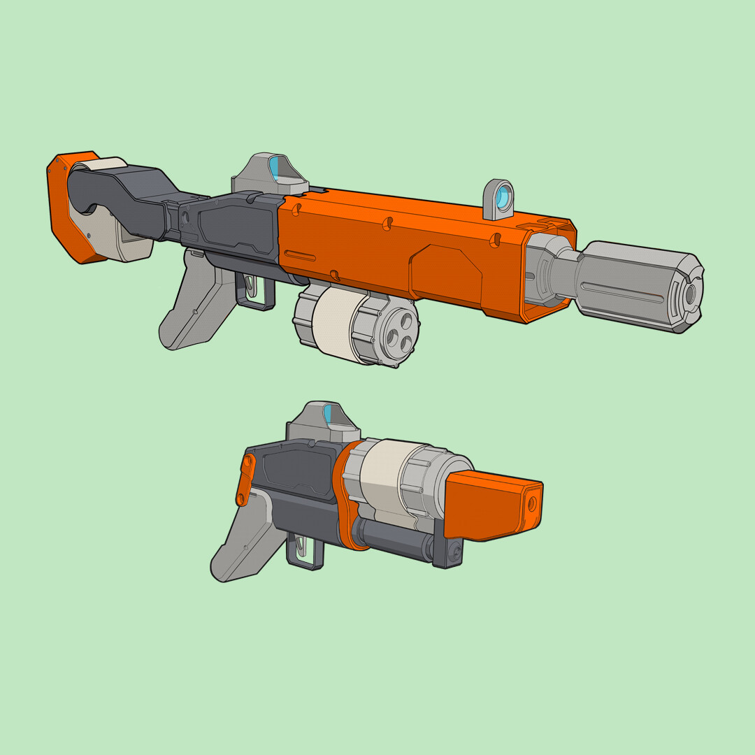 The 'Safety Orange' Set - Concept Art