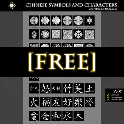 Muhammx sohail anwar list chinese sym char art thumb