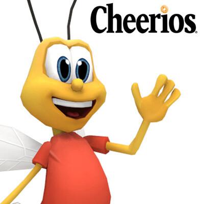 Honey Nut Cheerios Bee