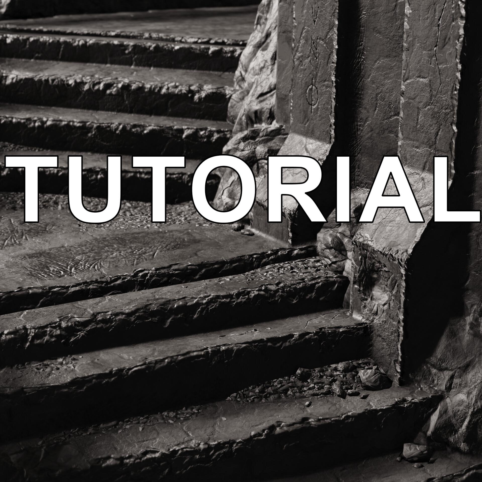 ArtStation - Organic Decals Environment Tutorial, Keegan Keene