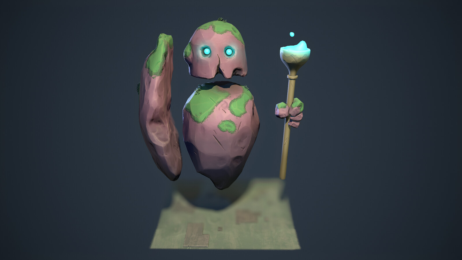 Moonlighter Fanart | Golem 3D Model